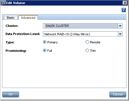HP CMC - Setting LUN as Network RAID 10