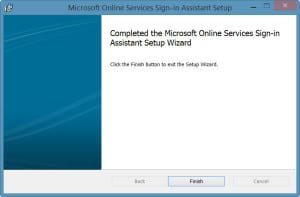 Online Services Sign-in Assistant Setup-3