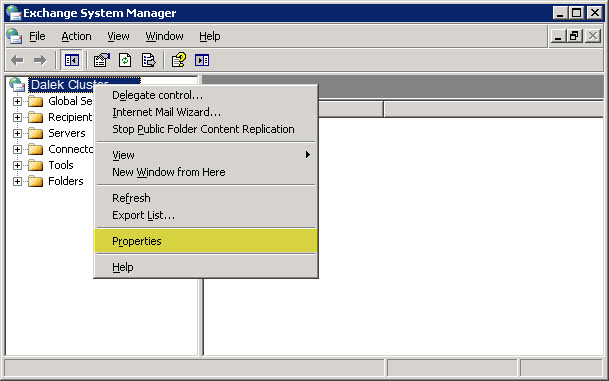 Migrating Exchange 2003 to 2010 - Part I - SuperTekBoy