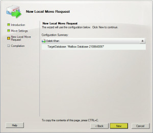 Exchange 2010 Local Move Request D