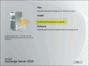 Exchange 2010 Service Pack 3 Upgrade 1