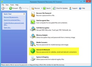 Passware Kit recovering a lost Outlook Data File PST password
