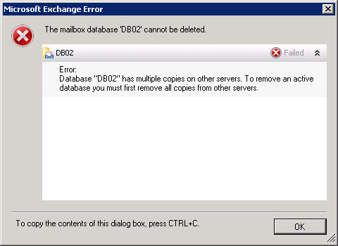 Decommission an Exchange 2010 Database Availability Group (DAG) A