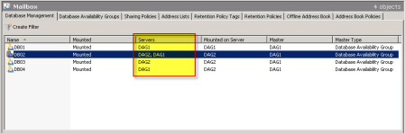 Decommission an Exchange 2010 Database Availability Group (DAG) D
