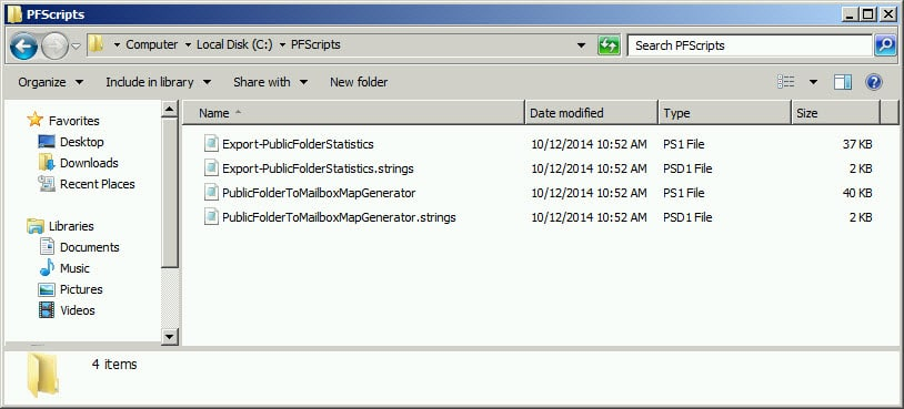 Migrate Public Folders from Exchange 2010 to 2013 A
