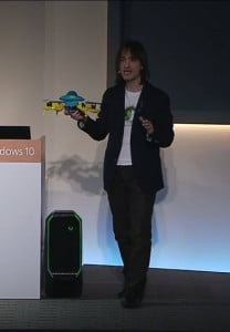 Windows 10 HoloLens HoloStudio Quadcopter