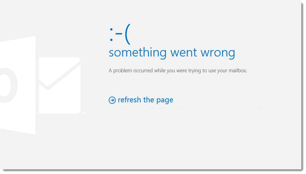 Exchange 2013 Something Went Wrong Internal Server Error 500
