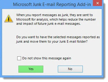 Microsoft Junk Email Reporting Add-In for Microsoft Outlook C