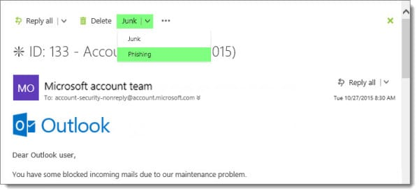 Send Phishing Email to Office 365