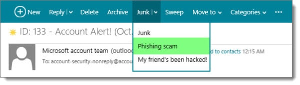 Send Phishing Email to Outlook.com