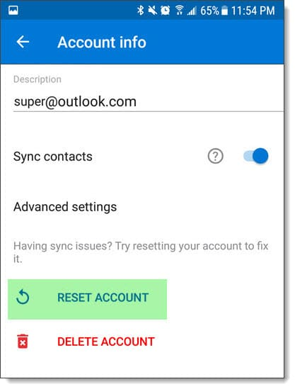 Fixing Outlook for Android & iOS Slow Folder Opening C