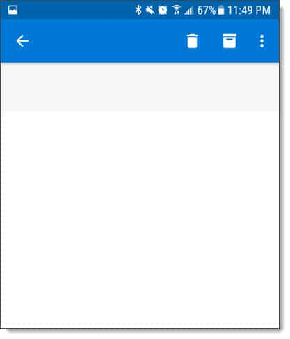 Outlook for Android & iOS Slow Email Opening