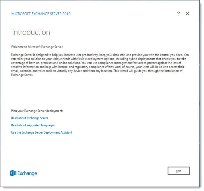 outlook anywhere exchange 2019