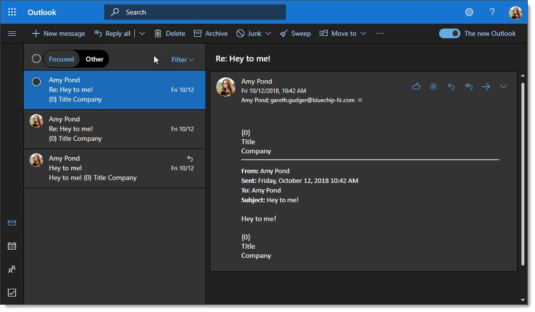 Enabling Dark Mode in Outlook on the Web 5