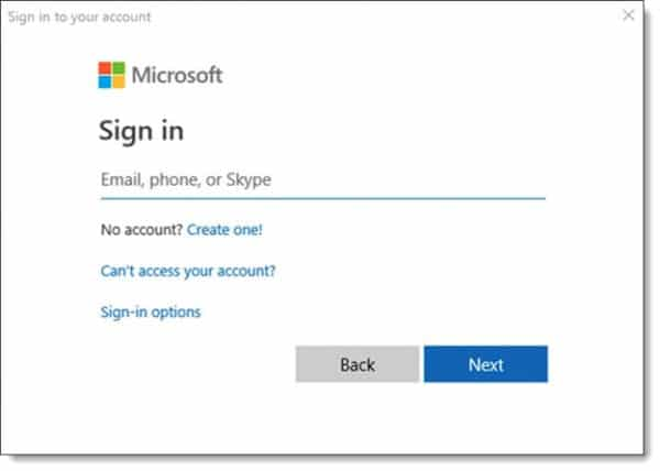 Office 365 Modern Authentication
