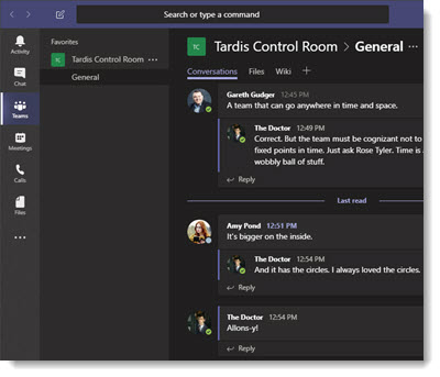 Microsoft Teams Dark Theme Thumbnail