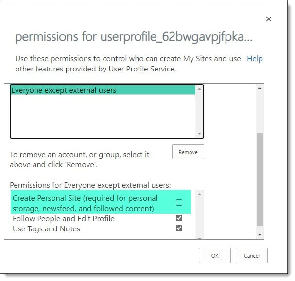 Blocking users from accessing OneDrive B