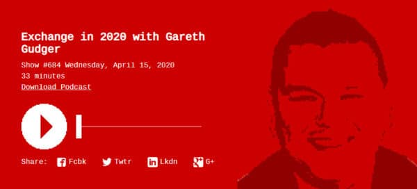 Gareth on Runas Radio #684 - Exchange in 2020 with Gareth Gudger