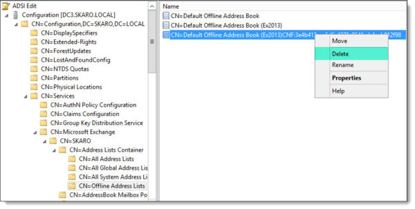 "Viewing Offline Address Books in ADSI Edit - Cannot find an overload for ""CompareTo"""