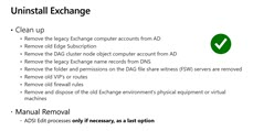 Decommissioning On-Premises Exchange Servers